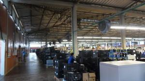 Climatizadores em indústria calçadista